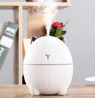 """Увлажнитель воздуха """"Милый кот"""". Ночник с увлажнением воздуха и ароматизацией. USB увлажнитель воздуха 200 мл"""