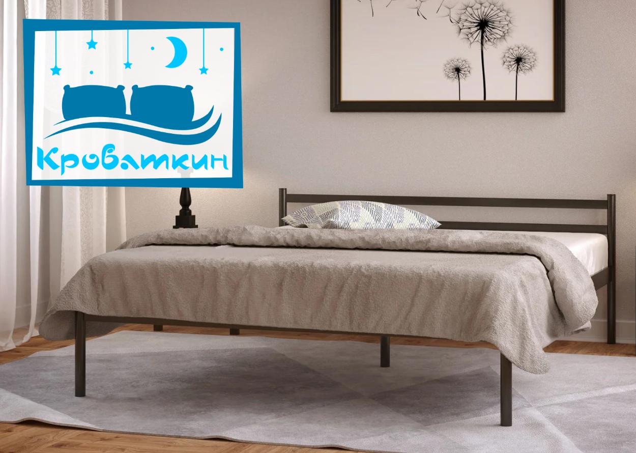 Металлическая кровать Comfort-1 (Комфорт-1) 80х190см Метакам