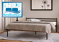 Металлическая кровать Comfort-1 (Комфорт-1) 80х190см Метакам, фото 1