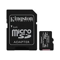 MicroSDXC 256GB UHS-I/U3 Class 10 Kingston Canvas Select Plus R100/W85MB/s + SD-адаптер (SDCS2/256GB)