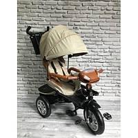 Трехколесный велосипед 5099-1 , Бежевый