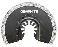 56H004 Круг Neo Tools GRAPHITE для багатофункц.інструменту, напівкруглий HM - вольфрамовое напилення