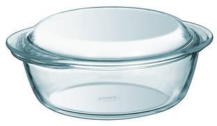 Кастрюля Pyrex Essentials 207A000, стеклянная с крышкой, 1л