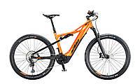 """Велосипед KTM MACINA CHACANA 293 29"""", рама М, оранжево-черный, 2020"""