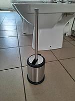 Ёршик для туалета Феникс Cosmo нержавейка с откидной крышкой