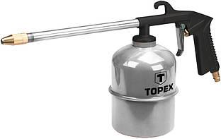 Пистолет промывочный, Topex 75M405 1 л, длина сопла 215 мм, 4 бар, CE