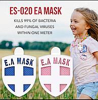 Значок бейдж блокатор вирусов  Ecom Air Mask для дезинфекции, дезодорации воздуха от аллергенов и вирусов
