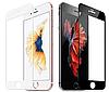 Apple iPhone 6 +  Защитное Стекло 4D для дисплея, экрана, матрицы телефона, белый цвет