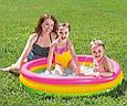 """Детский надувной бассейн """"Радуга"""" Intex 57412 (114*25 см), фото 3"""