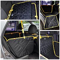 Автогамак для собак на 1/2 сидений, защитный чехол при перевозке собаки в авто. Comfort mini.