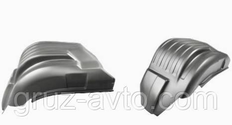 Защита колесных арок или подкрылки передние КАМАЗ в комплект 2 шт. / 21001