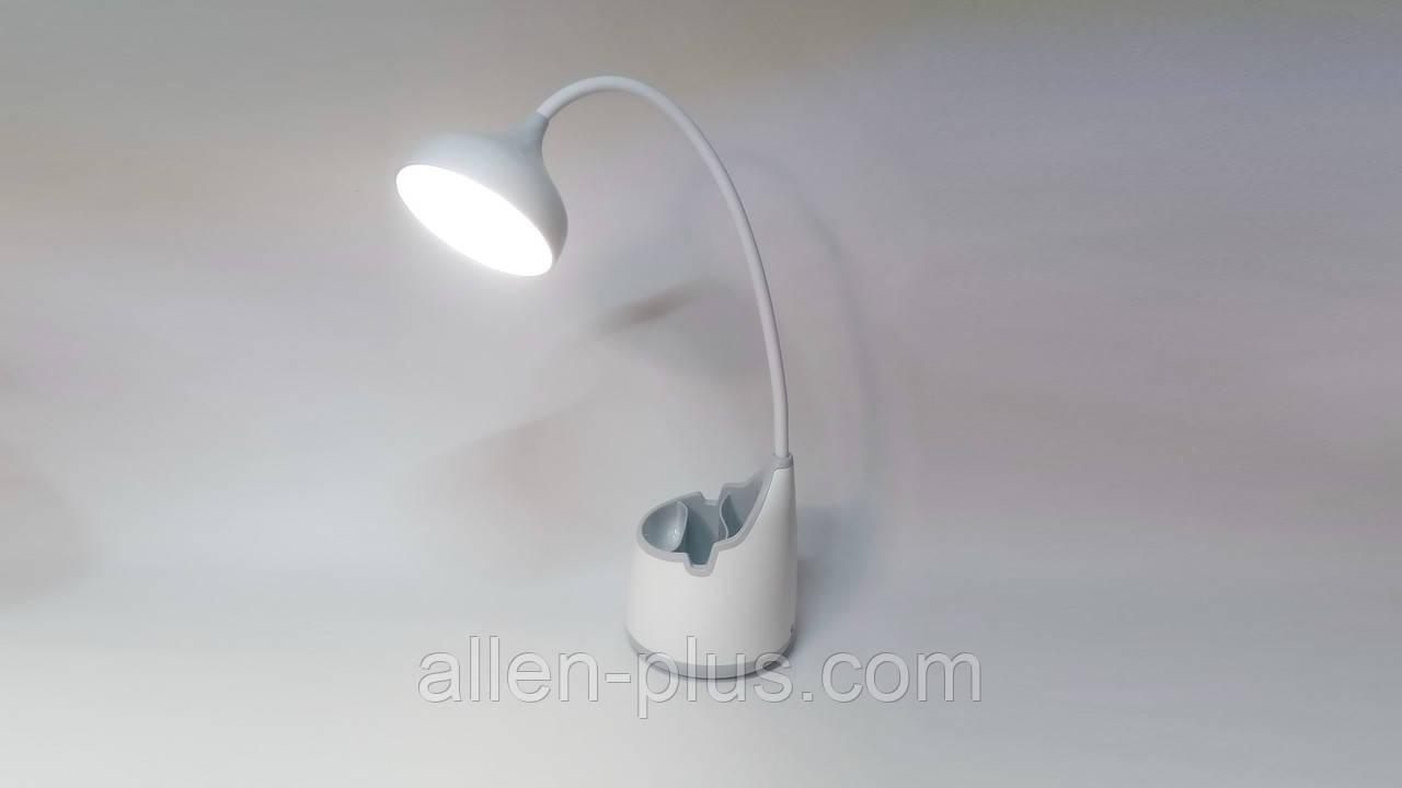 Настольная лампа светодиодная WD038, 3W, USB, аккумулятор