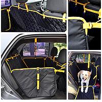Автогамак для собак , авточехол на задние сиденья авто для перевозки собак. Comfort Standart