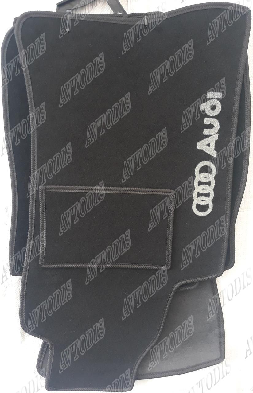 Ворсовые коврики Audi A4 B6 2000- МКП VIP ЛЮКС АВТО-ВОРС - фото 1