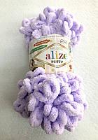 Пряжа Puffy 100гр - 9,2м (146 Лиловый) Alize