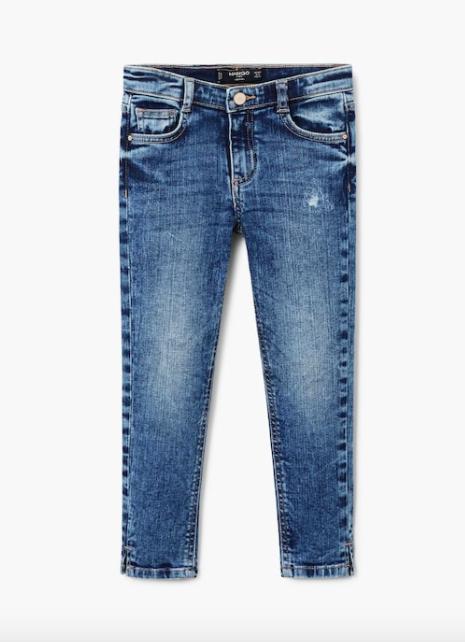 Стильные джинсы для девочки 11-12 лет Mango Испания Размер 152