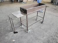 Кованый мангал на колесах АРТ КМ №-19, фото 1