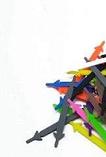 Шнурки силіконові для взуття різнокольорові еластичні високу якість 12 шт. комплект, фото 2