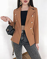 Женский пиджак стильный 4 расцветки