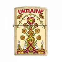 Зажигалка Zippo 207G-UT UKRAINE TREE
