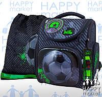 Ранец школьный ортопедический каркасный для мальчика Мяч DeLune 3 серия 3-165