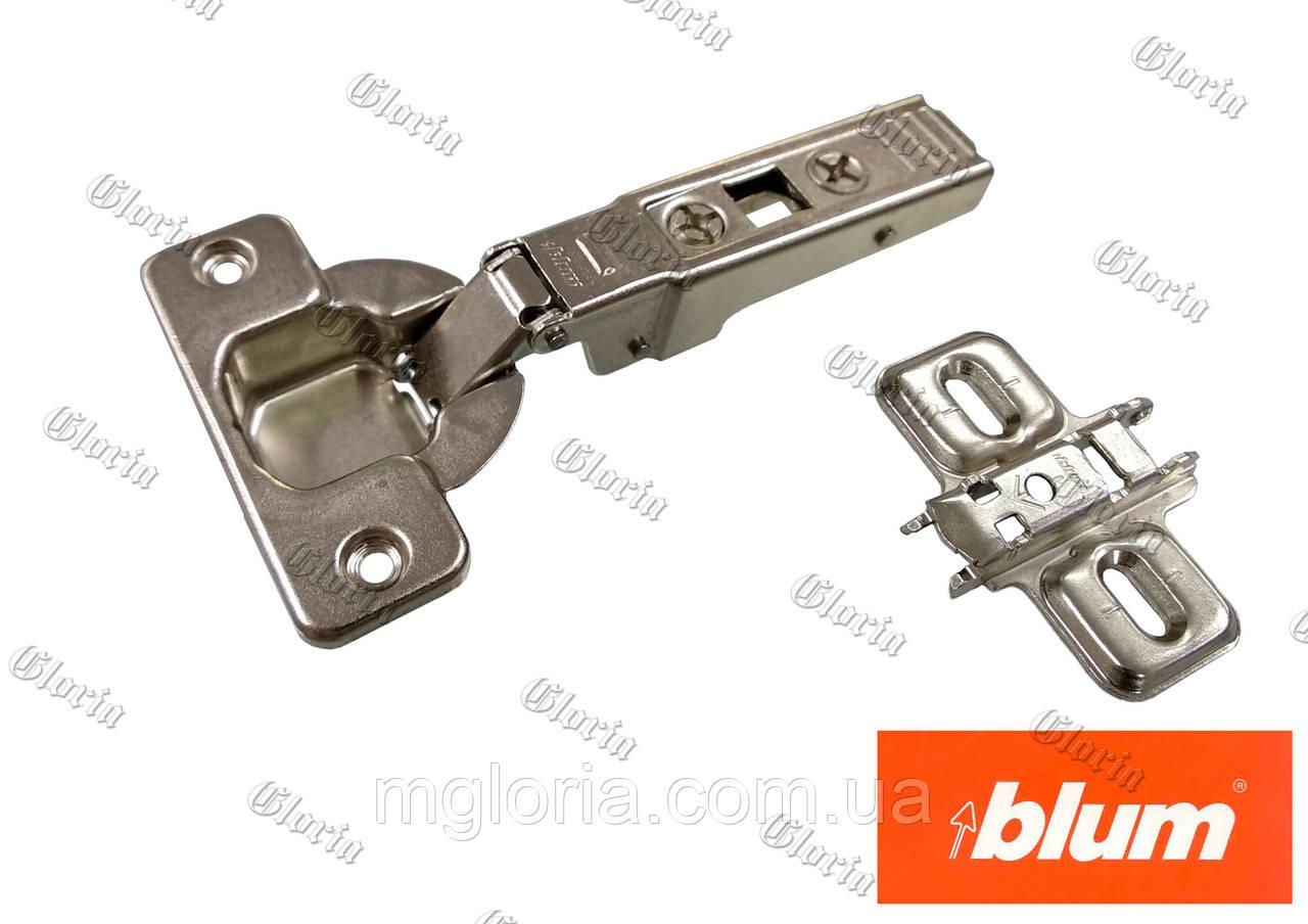 Петля Blum CLIP-Top для профільних дверей накладна 71T9550