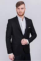 Пиджак мужской классический №A- цвет Черный