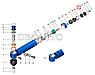66-3405198 Подушка штока цилиндра ГУР ГАЗ 66, 3308, 3309 (покупн. ГАЗ), фото 3