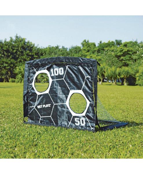 Раскладные футбольные ворота с мишенью 2 в 1 Net Playz SOCCER SMART PLAYZ