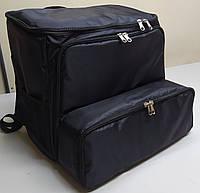 Рюкзак, термосумка для доставки еды с отделением для коробок на пиццу 42*42,  45*45 см