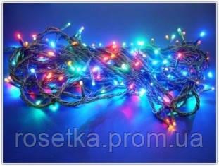 Разноцветная гирлянда 200 ламп 8 режимов свечения