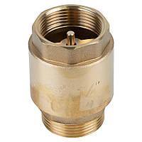 """Клапан обратный M1 1/4""""xF1 1/4"""" (латунь) euro 510г AQUATICA (779657)"""