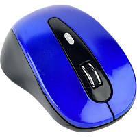 Мышка GEMBIRD MUSW-6B-01-B Blue+Black (MUSW-6B-01-B)