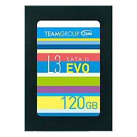 Накопитель SSD 120GB Team L3 EVO 2.5 SATAIII TLC (T253LE120GTC101) КОД: T253LE120GTC101
