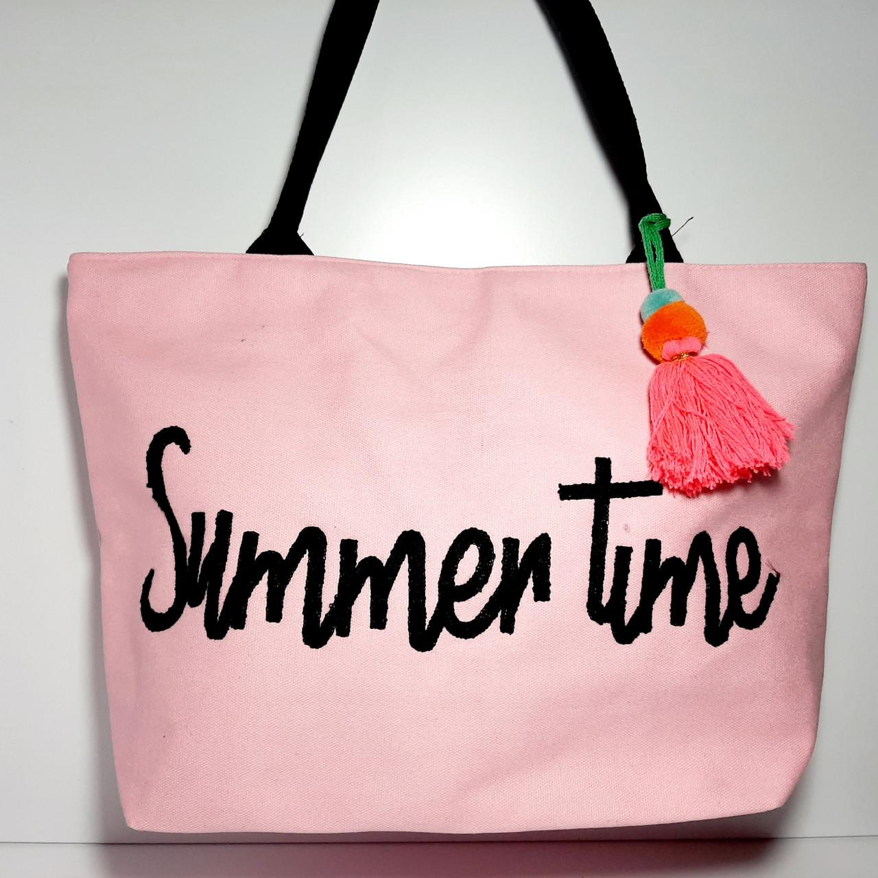 Пляжна сумка текстильна