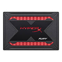 "Накопитель SSD 960GB Kingston HyperX Fury RGB 2.5"" SATAIII 3D TLC (SHFR200/960G) КОД: SHFR200/960G"