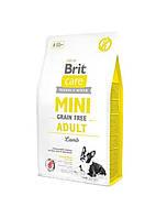 Корм Brit Care (Брит Кеа) Mini Grain Free Adult Lamb з ягням для дорослих собак маленьких порід 7 кг