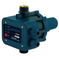 Контроллер давления электронный 1.1кВт Ø1 рег давл вкл Wetron (779737)