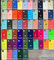 Чехол Silicone Case High Copy для Apple IPhone X / XS  (55 цветов)