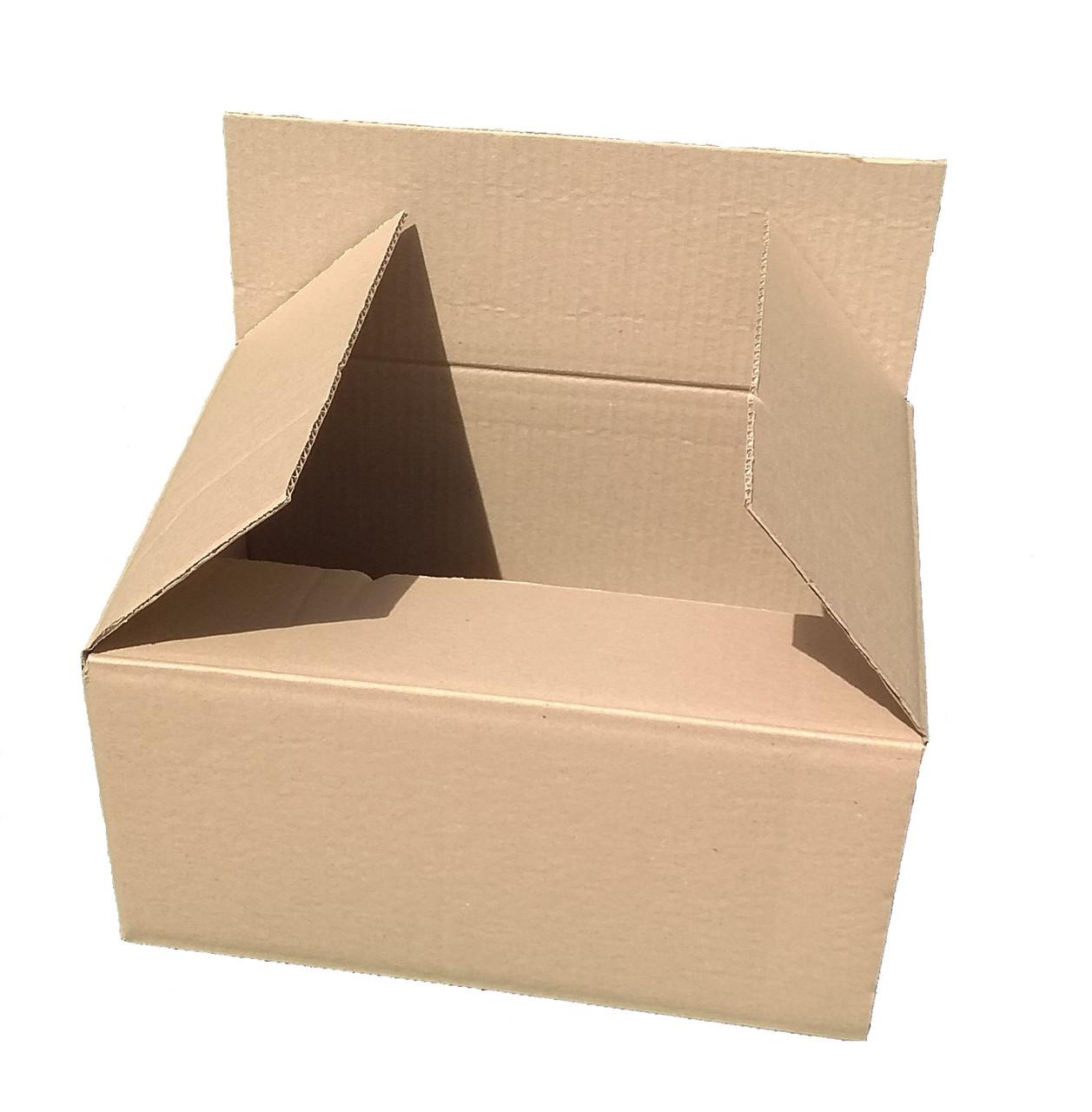 Гофроящики 400х240х210, бурый. Картонные коробки новой почты до 5 кг