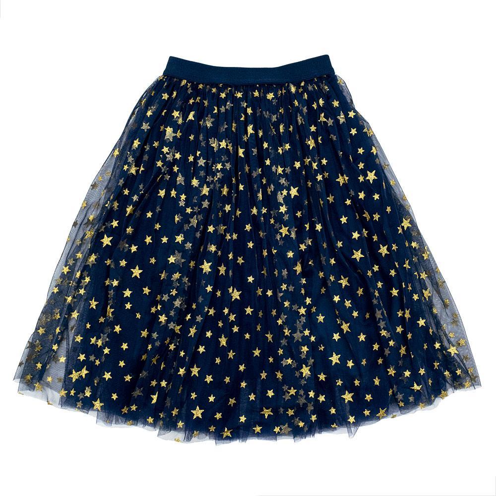 Юбка для девочек Deloras 146  синяя 29632