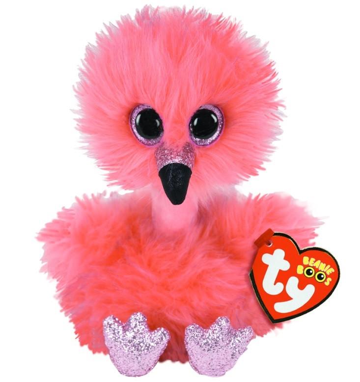 Мягкая игрушка Фламинго Френни 16 см. Оригинал TY Inc. 36381