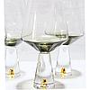 Винтажные бокалы для белого вина Chic набор 4шт*400 мл