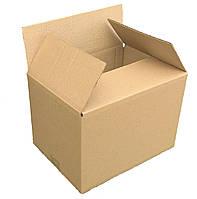Гофроящики 470х400х430, бурый. Картонные коробки новой почты