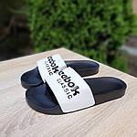 Жіночі літні шльопанці Reebok (чорно-білі) 50003, фото 5