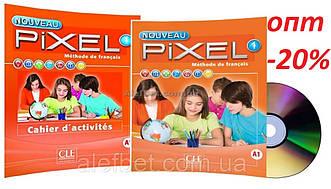Французский язык / Pixel Nouveau / Livre+Cahier d`exercices. Учебник+Тетрадь (комплект), 1 / CLE International