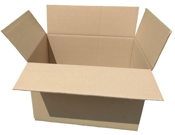 Картонная коробка вместимостью до 15 кг фактического или объемного веса 600*350*285, фото 2