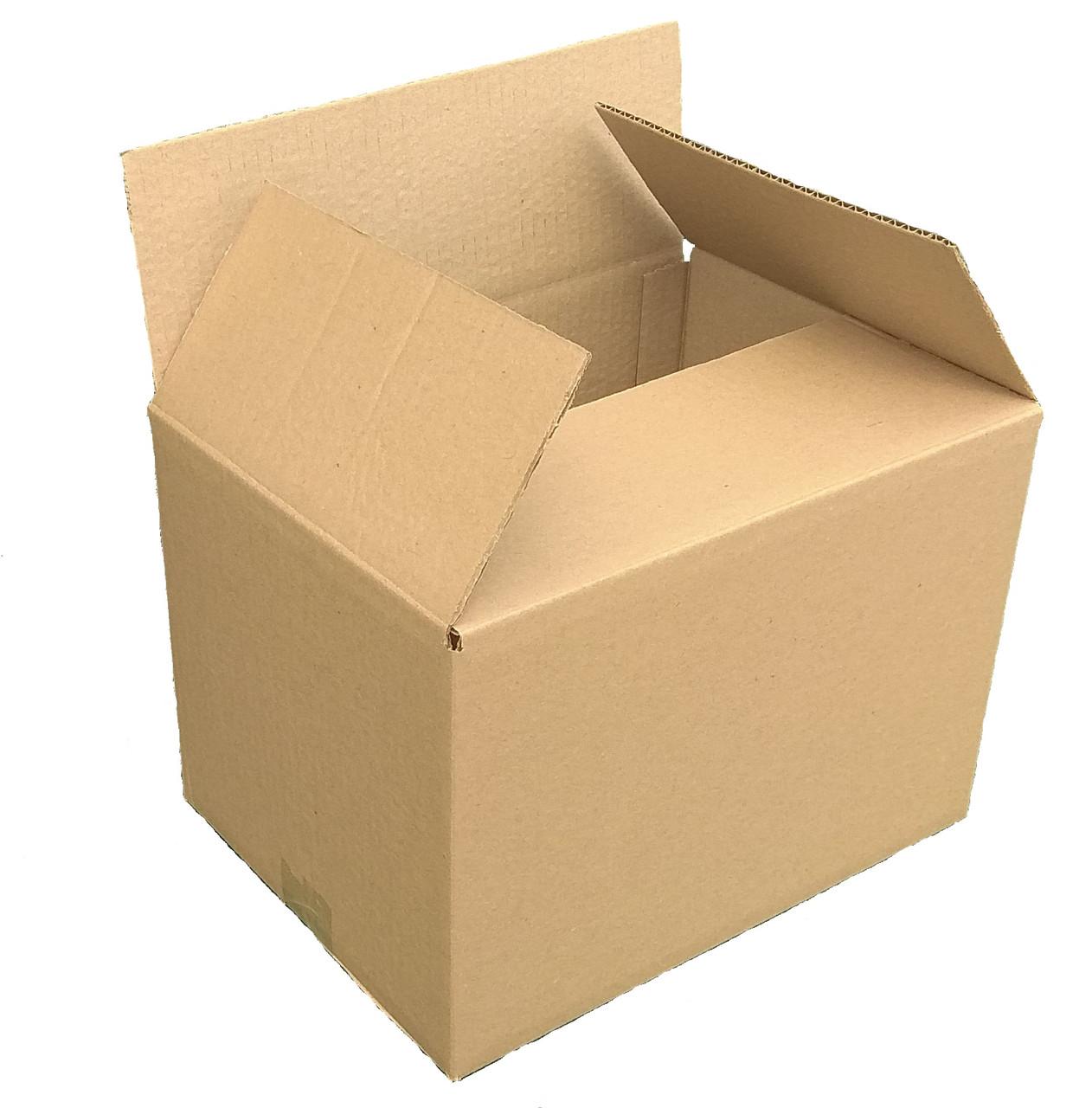 Картонная коробка вместимостью до 20 кг фактического или объемного веса 470*400*430