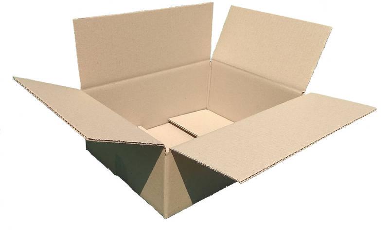 Гофроящики 340х240х100, бурый. Картонные коробки Новая почта 2 кг, фото 2