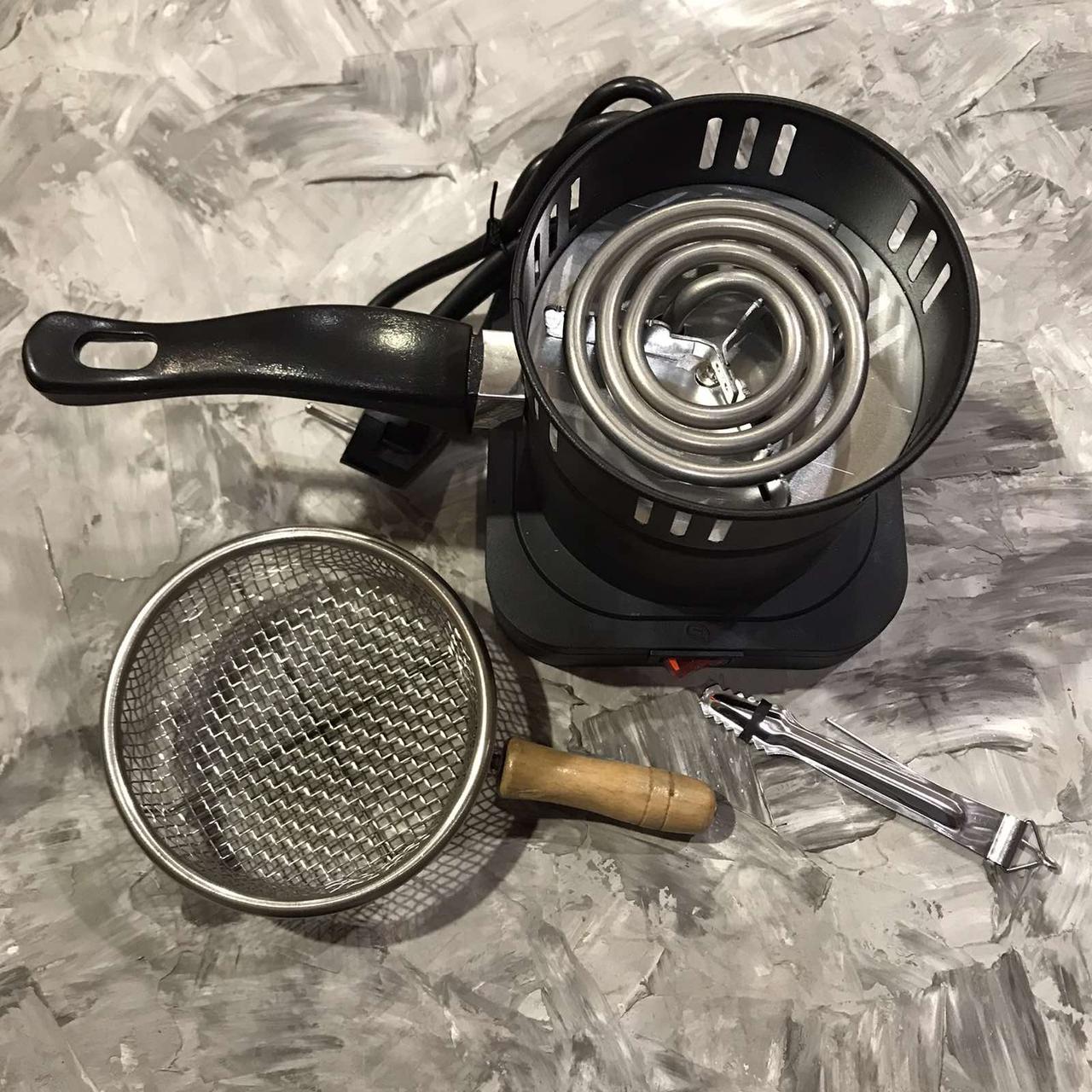 Печка для розжига углей для кальяна